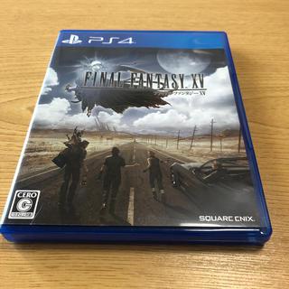 プレイステーション4(PlayStation4)の【送料込み】ファイナルファンタジーXV PS4(家庭用ゲームソフト)