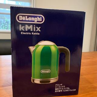 デロンギ(DeLonghi)の新品 デロンギ 電気ケトル0.75L(調理道具/製菓道具)