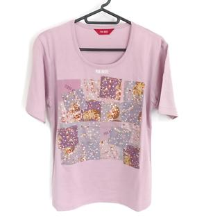 ピンクハウス(PINK HOUSE)のピンクハウス 半袖Tシャツ サイズL美品  -(Tシャツ(半袖/袖なし))