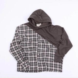 Trendywoobi hoody charcoal grey(パーカー)