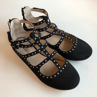 ザラキッズ(ZARA KIDS)のZARA GIRLS フォーマル靴 ブラック 31(スニーカー)