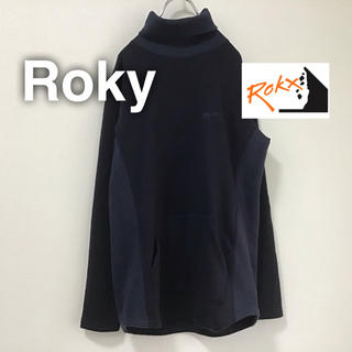 グラミチ(GRAMICCI)のRokx ロックス タートルネック スウェット ブラック 黒 アウトドア(スウェット)