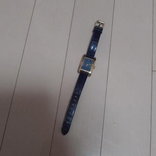 フルラ(Furla)のフルラ 本革 時計 ネイビー(腕時計)