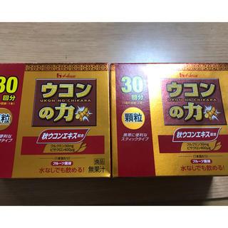 ハウスショクヒン(ハウス食品)のウコンの力 顆粒 30回分×2箱(その他)