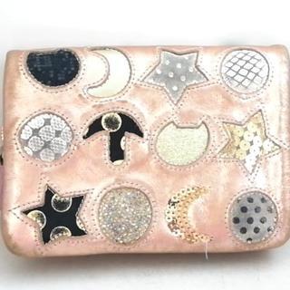 ツモリチサト(TSUMORI CHISATO)のツモリチサト 2つ折り財布 - ブロンズ(財布)