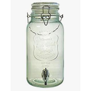 果実酒や梅酒、フルーツドリンクに!大容量!リビング冷水筒 ドリンクサーバー 4L(容器)