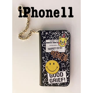 ドゥーズィエムクラス(DEUXIEME CLASSE)のGOOD GRIEF SMILE patched iphone cover 11(iPhoneケース)