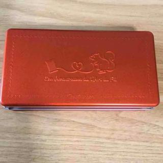 FELISSIMO - 【未使用】フェリシモ クチュリエリスの赤い横長缶