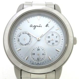 アニエスベー(agnes b.)のagnes b(アニエスベー) 腕時計 - V33J-0010(腕時計)