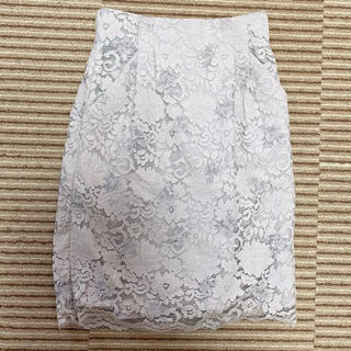ミスティウーマン(mysty woman)のミスティーウーマン レースタイトスカート(ひざ丈スカート)