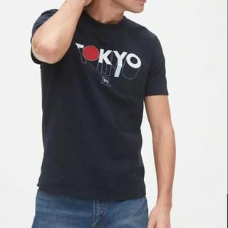 ギャップ(GAP)の1点のみ!新品★ Sサイズ gap メンズ Tシャツ tokyo  ネイビー(Tシャツ/カットソー(半袖/袖なし))