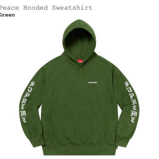 シュプリーム(Supreme)のsupreme peace hooded sweatshirt(パーカー)