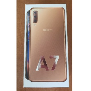 ギャラクシー(galaxxxy)の未開封未使用 GALAXY A7 楽天モデル 64GB(スマートフォン本体)