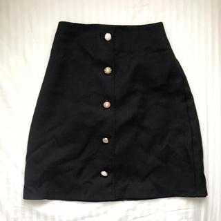 イング(INGNI)のビジュー台形スカート(ミニスカート)