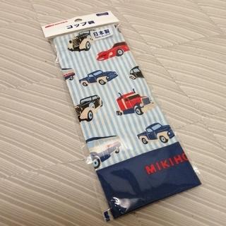 ミキハウス(mikihouse)のミキハウス☆コップ袋 車(ランチボックス巾着)