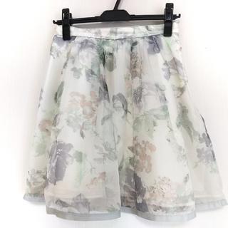 リランドチュール(Rirandture)のリランドチュール スカート サイズ2 M 花柄(その他)