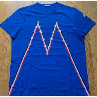 モンクレール(MONCLER)の‼️MONCLER‼️  Tシャツ  ブルー(Tシャツ/カットソー(半袖/袖なし))