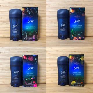 ピーアンドジー(P&G)のSecret シークレット 高級ライン デオドラント 4種セット‼️(制汗/デオドラント剤)