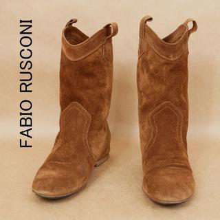 ファビオルスコーニ(FABIO RUSCONI)のFABIO RUSCONI ファビオルスコーニ 35 1/2 ショートブーツ(ブーツ)