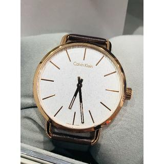 カルバンクライン(Calvin Klein)の新品 カルバンクライン K7B216G6 イーブン シンプル メンズ 腕時計(腕時計(アナログ))