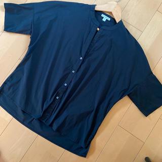 ジェームスパース(JAMES PERSE)のジェームスパース★ブラック★シャツ(シャツ/ブラウス(半袖/袖なし))