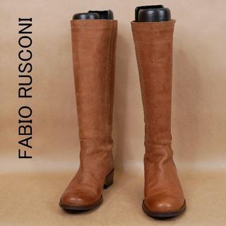 ファビオルスコーニ(FABIO RUSCONI)のFABIO RUSCONI ファビオルスコーニ 37サイズ ロングブーツ(ブーツ)