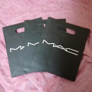 マック(MAC)のMACのショッパー2枚セット(ショップ袋)