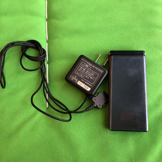 フジツウ(富士通)のDocomo F-07F BLACK(携帯電話本体)