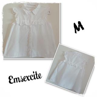 エムズエキサイト(EMSEXCITE)のエムズエキサイトノースリーブシャツ(シャツ/ブラウス(半袖/袖なし))