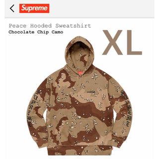 シュプリーム(Supreme)のSupreme Peace Hooded Sweatshirt Camo XL(パーカー)