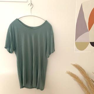 エディットフォールル(EDIT.FOR LULU)のbaserange Tee Shirt –Bamboo Juliet green(Tシャツ(半袖/袖なし))
