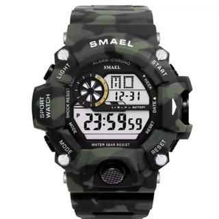 SMAEL 多機能 デジタル腕時計 メンズウォッチ アウトドア GSHOCK(腕時計(デジタル))