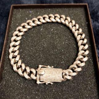 アヴァランチ(AVALANCHE)のAVALANCHE silver925 マイアミブレス 今月まで値下げ中‼︎(ブレスレット)