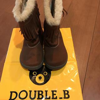 ミキハウス(mikihouse)のミキハウス ブーツ 18センチ 新品(ブーツ)