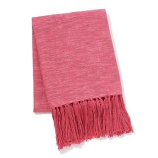 フランフラン(Francfranc)のフランフラン フラム スロー(ひざ掛け・ブランケット) ピンク  (毛布)