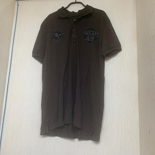 ディーゼル(DIESEL)のディーゼル XL ポロシャツ 墨黒(ポロシャツ)
