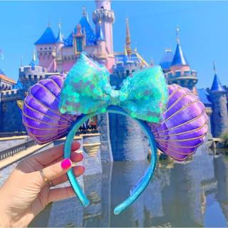 ディズニー(Disney)の【新品】 ディズニー アリエル カチューシャ 海外限定(カチューシャ)
