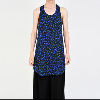 LONG TANK TOP 19ss BLUE 新品 定価以下