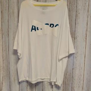ファセッタズム(FACETASM)の【新品未使用】FACETASM ファセッタズム メンズ AGGRO 白Tシャツ(Tシャツ/カットソー(半袖/袖なし))