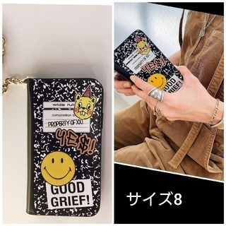 ドゥーズィエムクラス(DEUXIEME CLASSE)の新品GOOD GRIEF SMILE patched iphone cover (iPhoneケース)