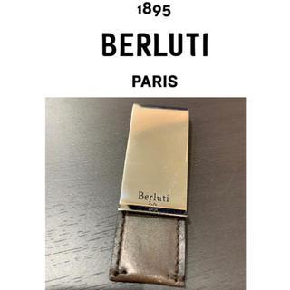 Berluti - 【送料込】希少/良品 定価5万品 ベルルッティ マネークリップ レザー