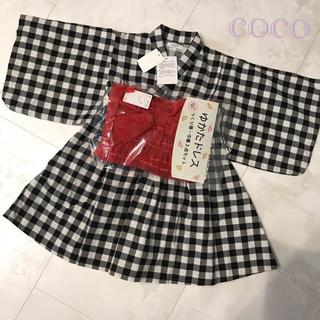 futafuta - 新品♡激かわ♡ワンピース浴衣♡ゆかたドレス♡浴衣ワンピース♡3点セット