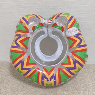 スイマー(SWIMMER)のHABBY 赤ちゃん用 ベビーフロート 首浮き輪 (INDIANA)(お風呂のおもちゃ)