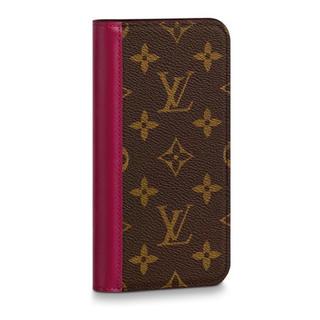 ルイヴィトン(LOUIS VUITTON)の【ドイツ直営店にて購入】iPhone11 フォリオ(モバイルケース/カバー)