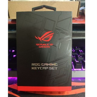 エイスース(ASUS)の【ASUS】ROG GAMING KEYCAP SET(PC周辺機器)
