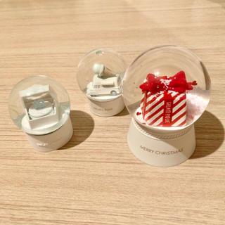ジェラートピケ(gelato pique)の【美品】ジェラートピケ gelato pique スノードーム 3セット(置物)
