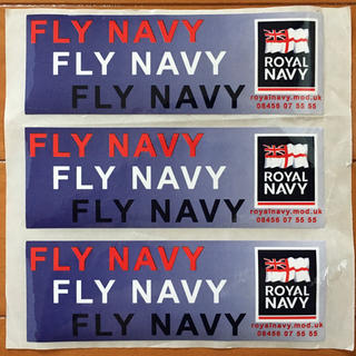 ステッカー シール イギリス海軍 Royal Navy(その他)