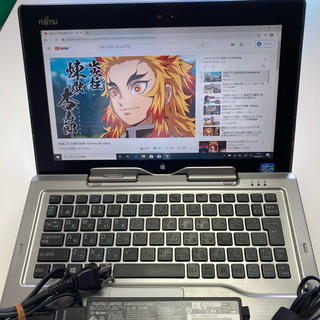 フジツウ(富士通)のSTYLISTIC Q702/G Win10搭載 ☘富士通PC i5搭載(ノートPC)