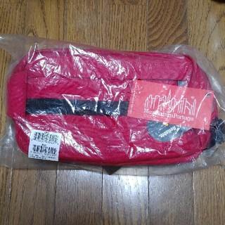 マンハッタンポーテージ(Manhattan Portage)のManhattan Portage  SPOKE レッド 日本未発売カラー 新品(ボディーバッグ)