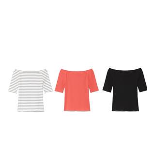 フレイアイディー(FRAY I.D)のボードネックカットソー(Tシャツ(半袖/袖なし))